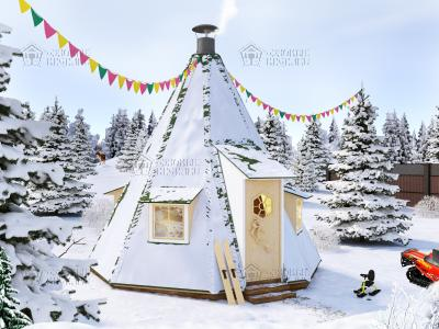 "Гриль чум ""Winter hut 17"" XL"